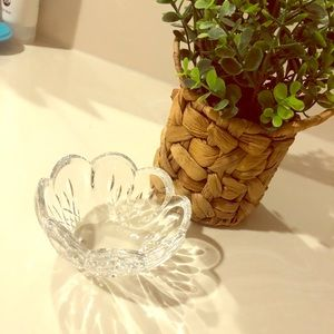 Waterford Lismore Heart Crystal Bowl